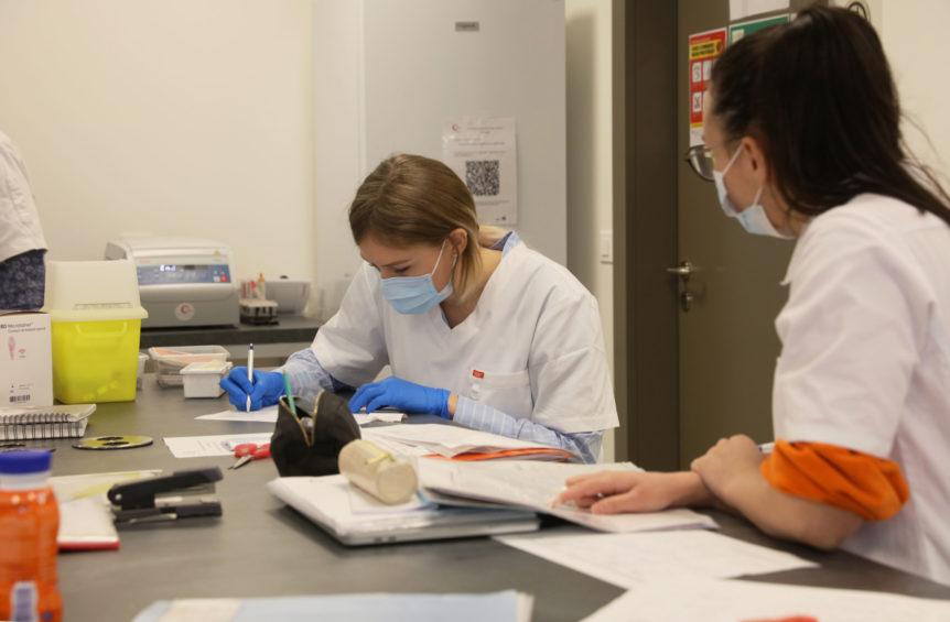 Photo formation assistante médicale